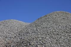 De heuvel van het grint Stock Afbeeldingen