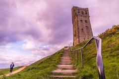 De Heuvel van het Huddersfieldkasteel royalty-vrije stock afbeeldingen