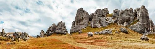 De heuvel van het Kasteel royalty-vrije stock foto's