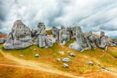 De heuvel van het Kasteel Stock Afbeelding