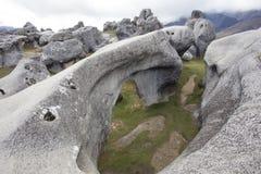 De Heuvel van het kasteel, Nieuw Zeeland Royalty-vrije Stock Afbeeldingen