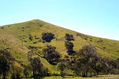 De Heuvel van het land Royalty-vrije Stock Afbeeldingen