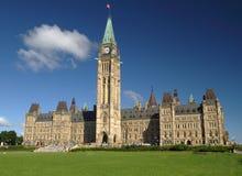 De Heuvel van het Parlement Stock Fotografie