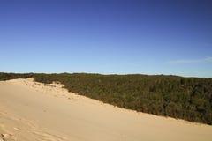 De heuvel van het Tangaloomazand Stock Afbeeldingen