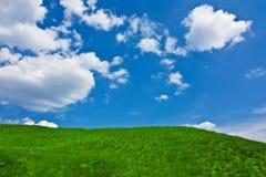 De heuvel van Idylic Royalty-vrije Stock Fotografie