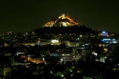De heuvel van Likavitos Royalty-vrije Stock Foto's