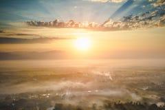 De Heuvel van Mandalay stock fotografie