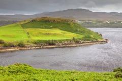 De heuvel van Mhairtein van Cnoc, Eiland van Skye, Schotland Royalty-vrije Stock Fotografie