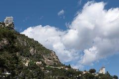 De Heuvel van Monte Carlo Stock Fotografie