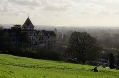 De heuvel van Richmond van de mening Stock Afbeelding