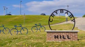 De Heuvel van de schreeuwbaby in Tulsa Oklahoma stock foto's