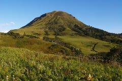 De Heuvel van Shikotan Royalty-vrije Stock Afbeeldingen