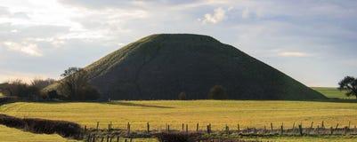 De Heuvel van Silbury stock afbeeldingen