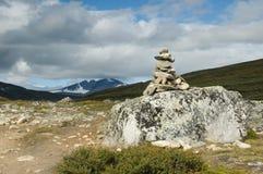 De heuvel van Snehota Stock Afbeeldingen