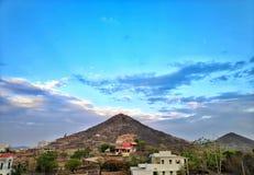 De heuvel van de Udaipurtijger stock afbeeldingen