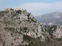 De heuveldorp van Gourdon in de Provence Royalty-vrije Stock Foto's