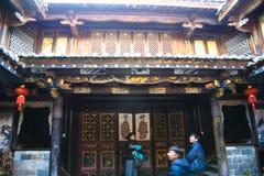 De Heuvelhuizen van de Jianshuiopdracht Stock Fotografie