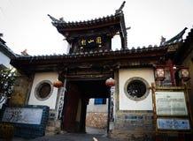 De Heuvelhuizen van de Jianshuiopdracht Stock Foto's