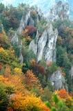 De heuvelLandschap van de herfst royalty-vrije stock afbeelding