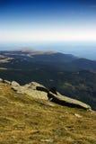 De heuvellandschap van Roemenië Stock Afbeeldingen