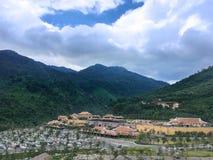 De Heuvels van bedelaarsna in centraal Vietnam royalty-vrije stock fotografie