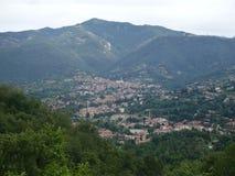 De heuvels van Bergamo Stock Afbeelding