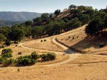 De heuvels van Californië Stock Afbeeldingen