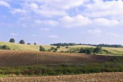 De heuvels van de herfst Royalty-vrije Stock Foto