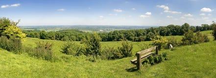 De heuvels van het platteland Royalty-vrije Stock Foto