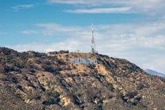 De Heuvels van Hollywood stock afbeelding