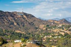 De Heuvels van Hollywood royalty-vrije stock afbeelding