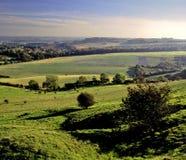 De heuvels van Pegston stock afbeelding