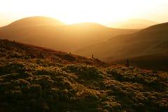 De Heuvels van Pentland Stock Fotografie