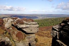De heuvels van Simonside Royalty-vrije Stock Foto