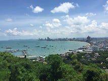 De Heuveltop van Thailand Bangkok Royalty-vrije Stock Foto's