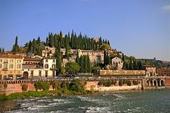 De Heuveltop van Verona Royalty-vrije Stock Afbeelding
