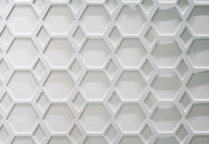 De hexagonale Achtergrond van het Patroon Royalty-vrije Stock Afbeelding
