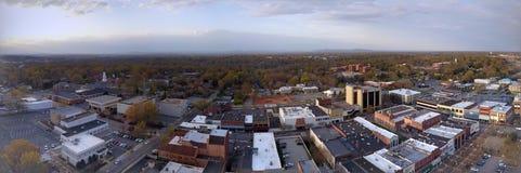 De Hickory van de binnenstad stock fotografie