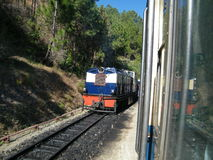 De Himalayan-Spoorweg Stock Fotografie