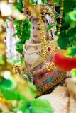 De Hindoese God, Lord Krishna, royalty-vrije stock afbeelding