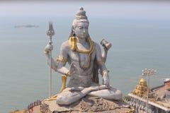 De Hindoese god van Staueshiva Stock Fotografie