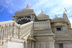 De Hindoese tempel Shri Swaminarayan Mandir van Toronto Royalty-vrije Stock Fotografie