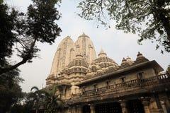 De Hindoese Tempel van Birlamandir in Kolkata Stock Afbeeldingen