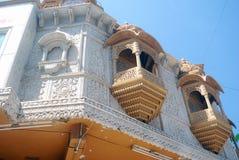 De Hindoese tempel van Ganpati van Kasba, Pune, Maharashtra, Ind. Stock Foto's