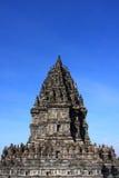 De Hindoese Tempel van Prambanan Stock Foto's