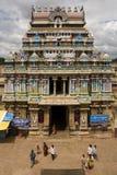 De Hindoese Tempel van Ranganatha - Srirangam - India Stock Afbeelding