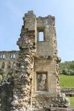 De historische abdij ruïneert muur Stock Fotografie