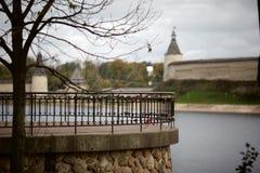 De historische architectuur van de Slaviërs Stock Afbeeldingen
