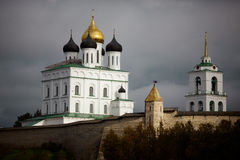 De historische architectuur van de Slaviërs Royalty-vrije Stock Fotografie