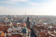 De historische Architectuur van Praag Royalty-vrije Stock Fotografie
